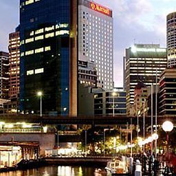 Exterior view Sydney Harbour Marriott Hotel at Circular Quay Fotos