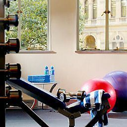Fitness room Sydney Harbour Marriott Hotel at Circular Quay Fotos