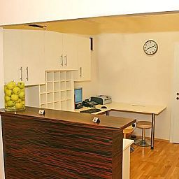 Recepción City Rooms Fotos