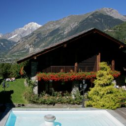 Pool Mont Blanc Hotel Village Chateaux et Hotels Collection Fotos