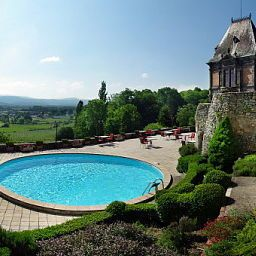 Pool Chateau de Maulmont Chateaux et Hotels Collection Fotos