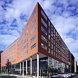 Exterior view Courtyard by Marriott Berlin Mitte Fotos