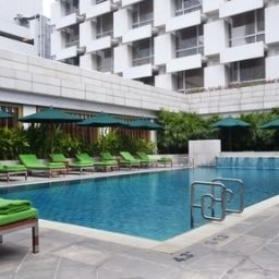 Piscina Holiday Inn BANGKOK Fotos