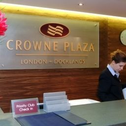 Hall Crowne Plaza LONDON DOCKLANDS Fotos