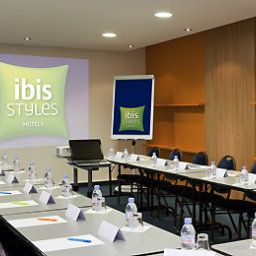 Sala de reuniones ibis Styles Nancy Centre Gare (ex all seasons) Fotos