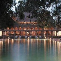 Area wellness Amanbagh Rajasthan Fotos