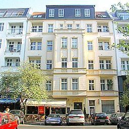 Vista esterna City Guesthouse Pension Berlin Fotos
