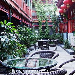 Сад Double Happiness Courtyard Yue Wei Zhuang Fotos