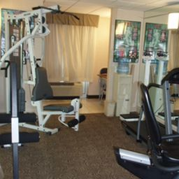 Wellness/Fitness Holiday Inn Express Hotel & Suites I-26 & US 29 AT WESTGATE MALL Fotos