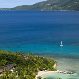 Ausblick Rosewood Little Dix Bay Fotos