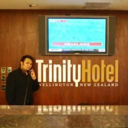 Bar Trinity Just Hotel Wellington Fotos