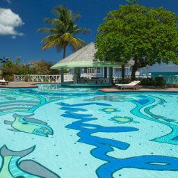 Piscine Sandals Halcyon Beach St. Lucia Fotos