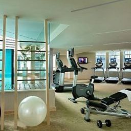 Fitness room Ascott Raffles Place Singapore Fotos