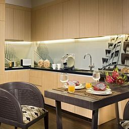 Kitchen Ascott Raffles Place Singapore Fotos
