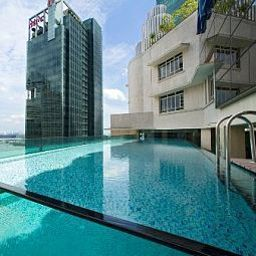 Pool Ascott Raffles Place Singapore Fotos