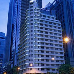 Exterior view Ascott Raffles Place Singapore Fotos
