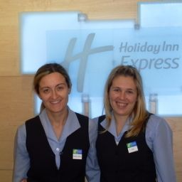 Hall Holiday Inn Express MADRID AIRPORT Fotos