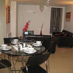 Sala de desayuno City Crash Pad Serviced Apartments Fotos