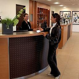 Hall Teneo Apparthotel Bordeaux Begles Fotos