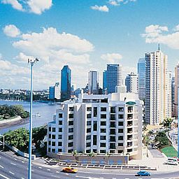 Vista exterior Adina Apartment Hotel Brisbane Fotos