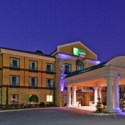 Фасад Holiday Inn Express Hotel & Suites MACON-WEST Fotos