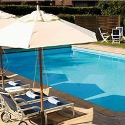Pool Cottage Bise Chateaux et Hotels Collection Fotos