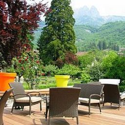 Terrasse Cottage Bise Chateaux et Hotels Collection Fotos