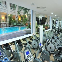 Fitness room Grand Saigon Fotos