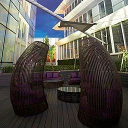 Terrasse The Vine a divine hotel Fotos