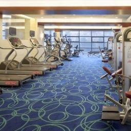 Sala spa/fitness Crowne Plaza INTERNATIONAL AIRPORT BEIJING Fotos
