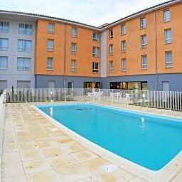 Piscine Appart City Carcassonne Residence Hoteliere Fotos