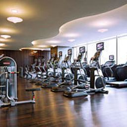 Fitness room Beijing Marriott Hotel Northeast Fotos
