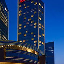 Exterior view Beijing Marriott Hotel Northeast Fotos
