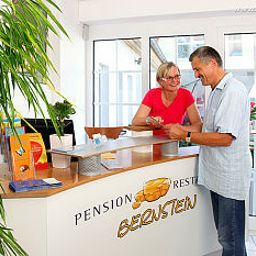 Empfang Bernstein Pension Fotos