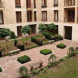 Сад Adler Apartments Fotos