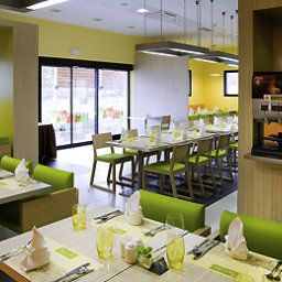 Breakfast room within restaurant ibis Plzen Fotos