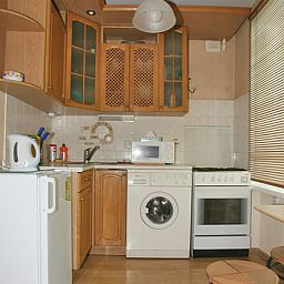 Kitchen Kvart Apartments Kievskaya Fotos