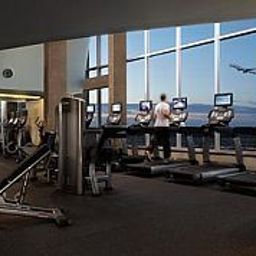 Fitness room Montreal Airport Marriott Hotel Fotos