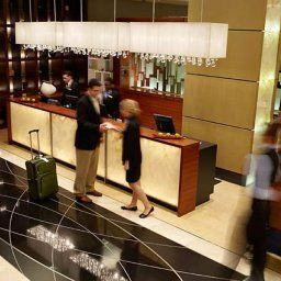 Hall Montreal Airport Marriott Hotel Fotos