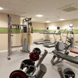Wellness/fitness area Hampton by Hilton CorbyKettering Fotos