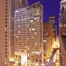 Vista exterior theWit Chicago  a DoubleTree by Hilton Hotel Fotos