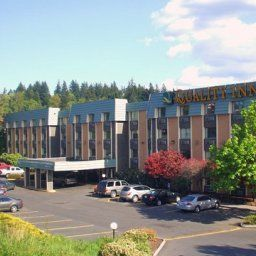 Vista exterior Quality Inn Tigard Fotos
