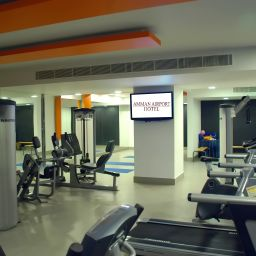 Fitness room Amman Airport Fotos