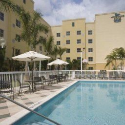 Бассейн Homewood Suites by Hilton Miami - Airport West Fotos