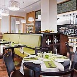 Restaurante Courtyard Budapest City Center Fotos