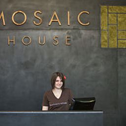 Reception Mosaic House Fotos