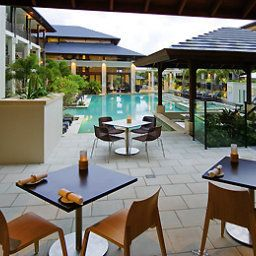Breakfast room within restaurant Grand Mercure Apartments Casuarina Beach Fotos