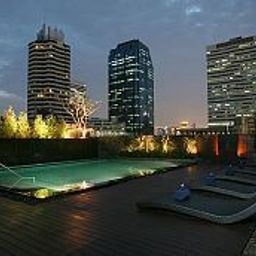 Pool Oakwood Apartment Trilliant Sukhumvit 18 Fotos
