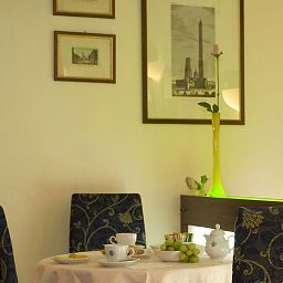 Breakfast room within restaurant Corticella Fotos
