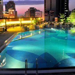 Pool Crowne Plaza GUANGZHOU CITY CENTRE Fotos